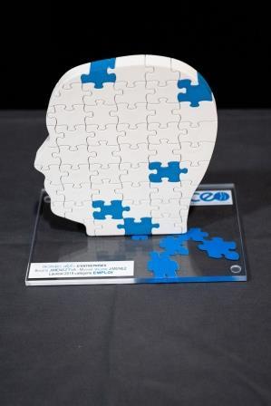 Trophées Défis d'Entreprises catégorie emploi
