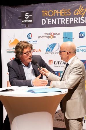 Philippe ZANNI, FFIE, lors de la 5ème Cérémonie des Défis d'Entreprises