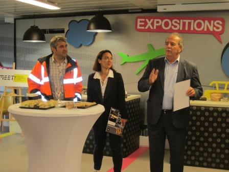 Visite du MEETT avec Anne FRAISSE, Europolia