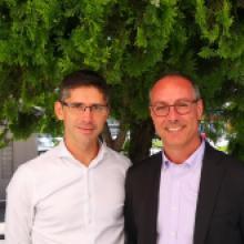 Jean-Michel Rouanet et Michel Durand - Cabinet Audiex - Membres du CEO