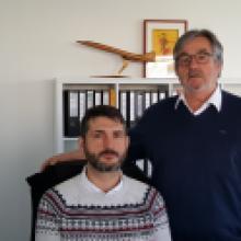 Edgard et Stéphane Marty - Mazères Aéro Equipment - Membre du CEO