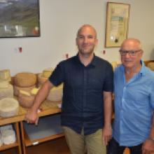 Jean-Pierre et Laurent Delmas - Fromagerie Chez Jeannot - Membres du CEO